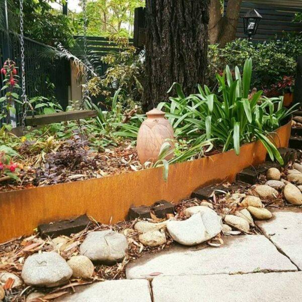 buy corten metal garden edging online