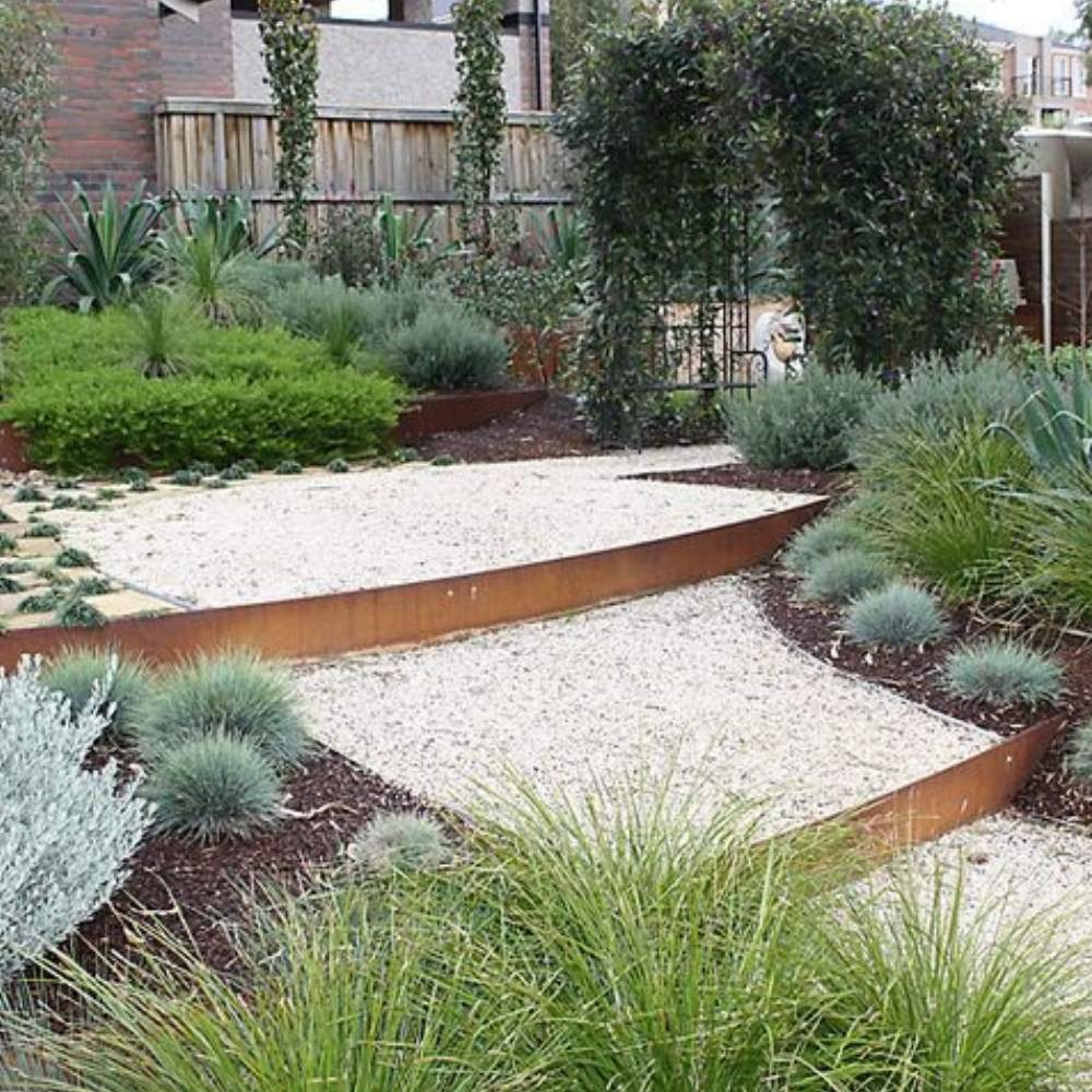 buy corten steel garden edging online