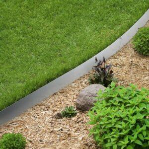 stainless steel garden edging